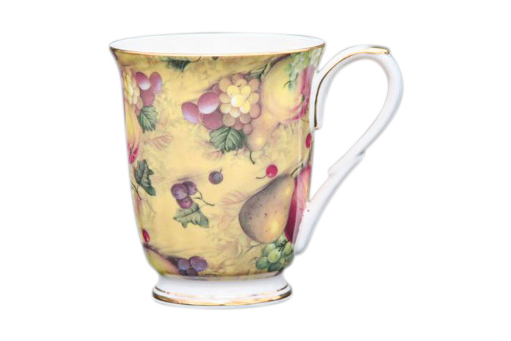 Country Fruit Chintz Beaker